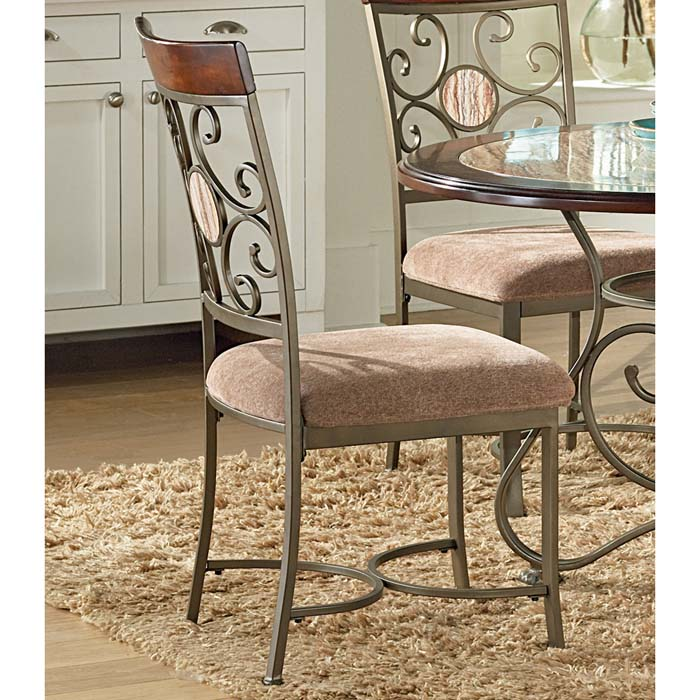 Thompson Metal Frame Side Chair - SSC-TP450S