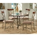 Thompson Wood and Marble Top Dinette Table - SSC-TP450T-TP450B