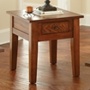 Desoto End Table - Drawer, Dark Oak Finish - SSC-DE200E