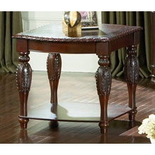 Antoinette End Table in Cherry
