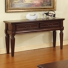 Davina Cherry Finished Sofa Table with Drawers - SSC-DV100S