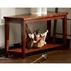 Davenport Dark Cherry Sofa Table With Slate Inlays Dcg Stores