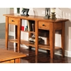 Liberty Oak Finished Sofa Table - SSC-LY600S