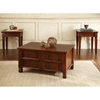 Edgewood 3 Piece Occasional Tables Set - Storage Trunk, Cherry - SSC-EW1000