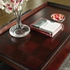 Clemson Rectangular Coffee Table Lift Top Dark Cherry