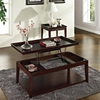 Clemson Rectangular Coffee Table - Lift Top, Dark Cherry - SSC-CL900C