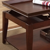 Clemens Coffee Table & End Tables Set - Cherry Finish - SSC-CL4500