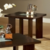 Delano End Table with Cracked Glass Insert - SSC-DE150E