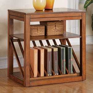 Jameson Chairside End Table with Side Tray