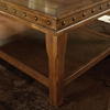 Odessa Occasional Tables Set - Planked Wood, Nail Heads - SSC-DA2500
