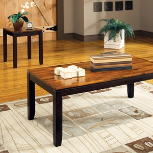 Abaco 3 Piece Occasional Tables Set - Two-Toned Acacia Finish