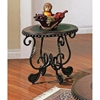 Rosemont End Table with Black Metal Base - SSC-RM200E