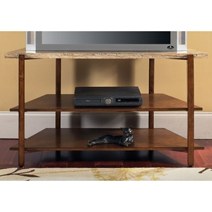 Tivoli TV Stand with Marble Top