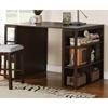 Bradford Dark Oak Counter Height Writing Desk Ssc Bd700dk