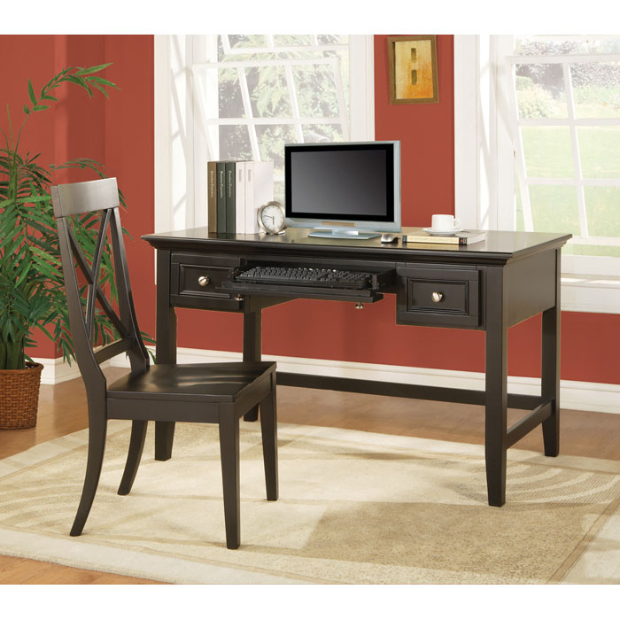 Oslo Writing Desk With Keyboard Tray Dcg Stores