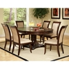 Marseille 7 Piece Dining Set - Oval Extension Table, Cream Chairs - SSC-MS850-OVL-7PC