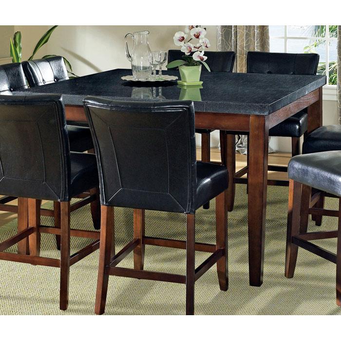 36 Square Dinette Pub Counter Height Kitchen Table No: Granite Bello Square Top Counter Height Table