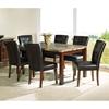 online retailer 94424 2cdb6 Montibello 7 Piece Dining Set with Chocolate Brown Chairs