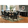 Monarch Black Finished Server with Marble Top - SSC-MC500SV