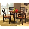 Abaco Round Dual Drop Leaf Dinette Table - SSC-AB4242T