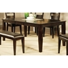 Victoria Wood Rectangular Dining Table - SSC-VC400T