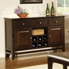 Victoria Wood Server in Mango Finish - SSC-VC500SB
