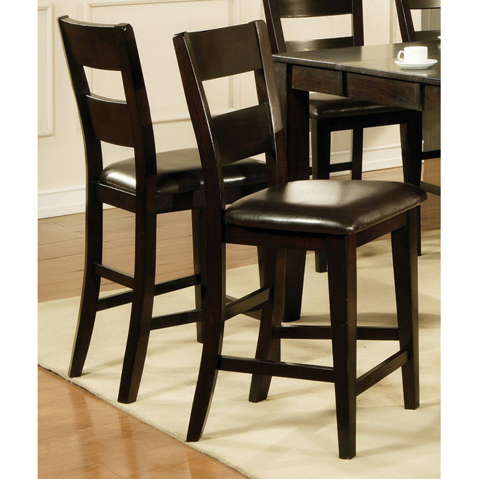 Victoria quot counter chair with chocolate seat dcg stores
