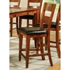 "Mango 24"" Counter Chair - Light Oak, Chocolate Seat - SSC-GO900CCK"