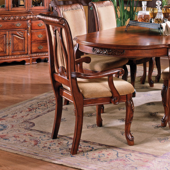 Harmony 7 Piece Dining Set in Cherry Finish - SSC-HY-CHERRY-7PC
