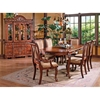 Harmony Buffet Table and Hutch in Cherry - SSC-HY750B-HY750H