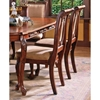 Harmony Cherry Side Chair with Hand Carved Accents - SSC-HY600S