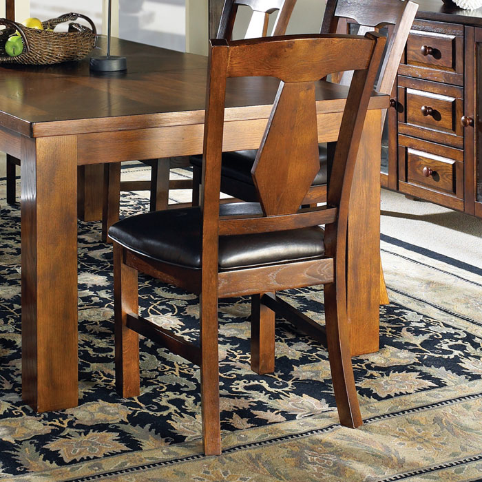 Lakewood Dark Brown Side Chair - SSC-LK400S