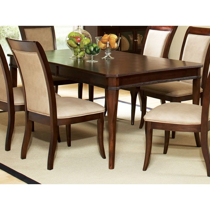 Marseille Extending Dining Table in Dark Cherry