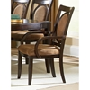 Montblanc Armchair in Merlot Finish - SSC-MB500A
