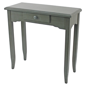 Wood Accent Table - Rectangular, 1 Drawer
