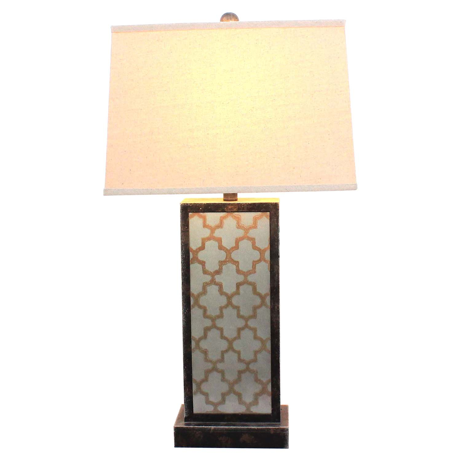 "30""H Table Lamp - Drum Shade (Set of 2) - TETN-TL-010"