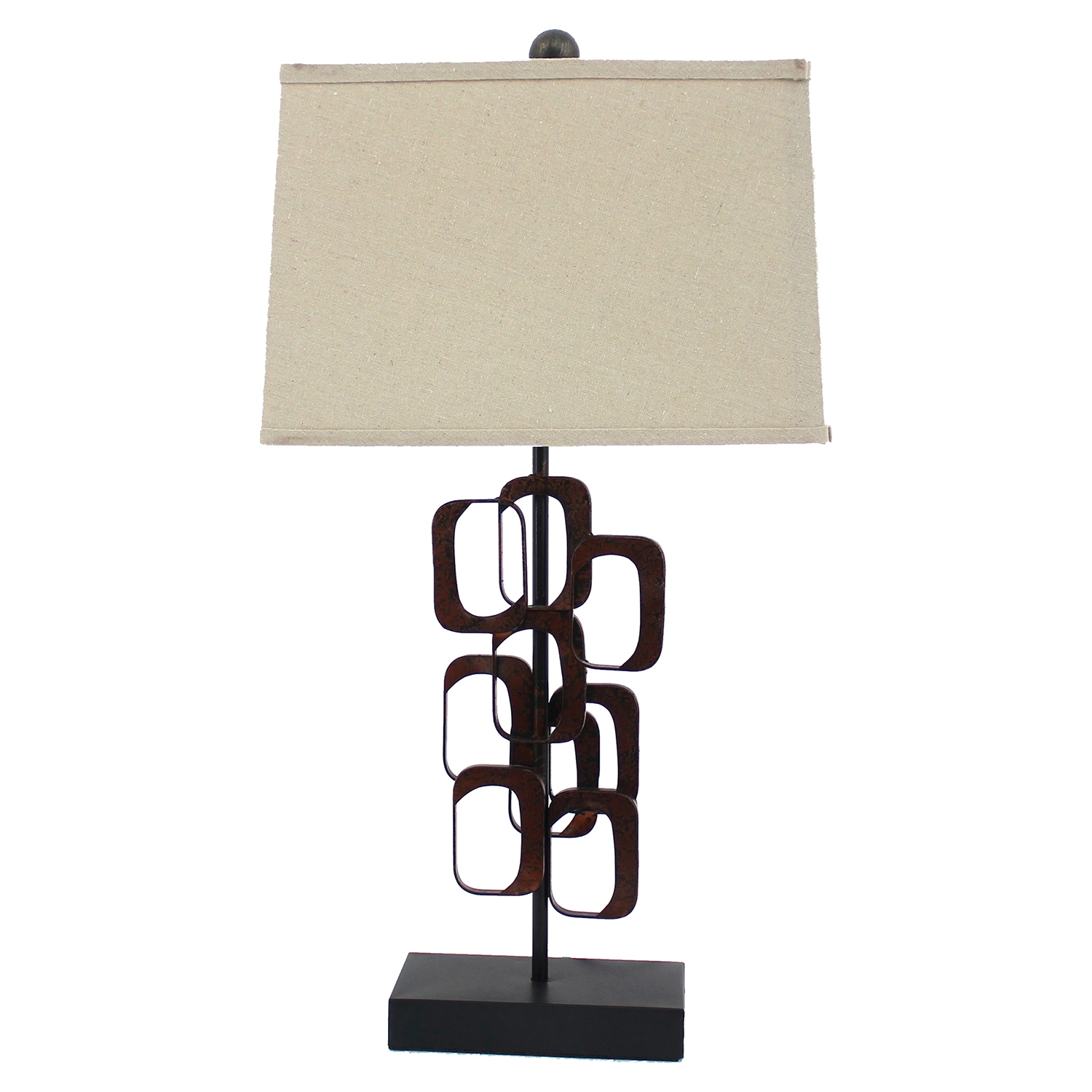 Table Lamp with Drum Shade (Set of 2) - TETN-TL-014