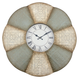 Metal Wall Clock - Round (Set of 4)