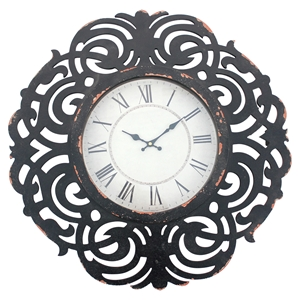 Wood Wall Clock (Set of 4)