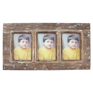 Wood Wall Photo Frame (Set of 4)