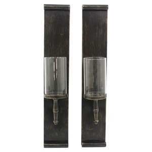2-Piece Metal Candle Holder (Set of 2)