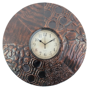 Round Wall Clock (Set of 4)