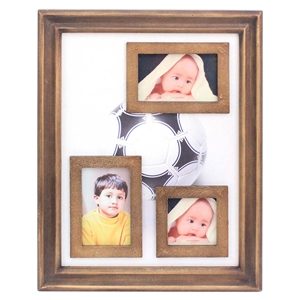 Rectangular Wood Photo Frame (Set of 4)