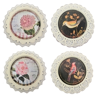 4-Piece Plate Wall Decor