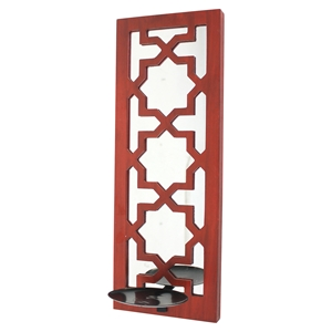 Candle Holder - Red (Set of 4)