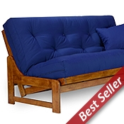 Arden Wood Futon Frame Set - Armless, U.S.A. Futon Mattress