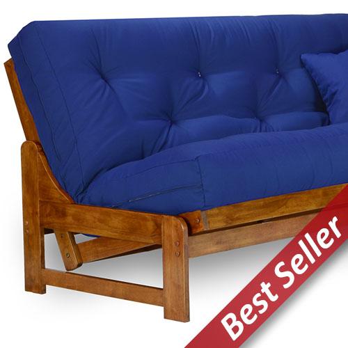 arden wood futon frame set   armless u s a  futon mattress nirvana futons free shipping   authorized dealer  rh   dcgstores