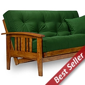 Medium image of westfield wood futon frame set   heritage u s a  futon mattress