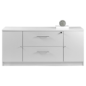 100 Series Storage Credenza - 2 Drawers, 2 Doors