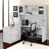 100 Series Corner L Shaped Desk Hutch Lateral File Left Side Uniq